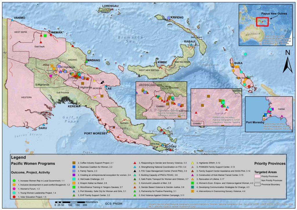 Papua New Guinea Pacific Women Shaping Pacific Development