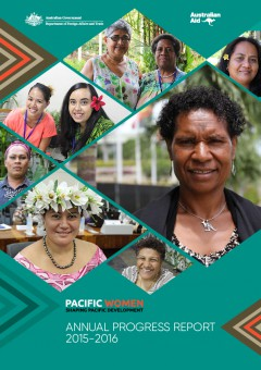 <em>Pacific Women</em> Annual Progress Report- 2015-2016