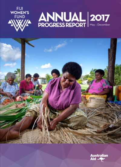 Fiji Women's Fund Annual Progress Report 2017